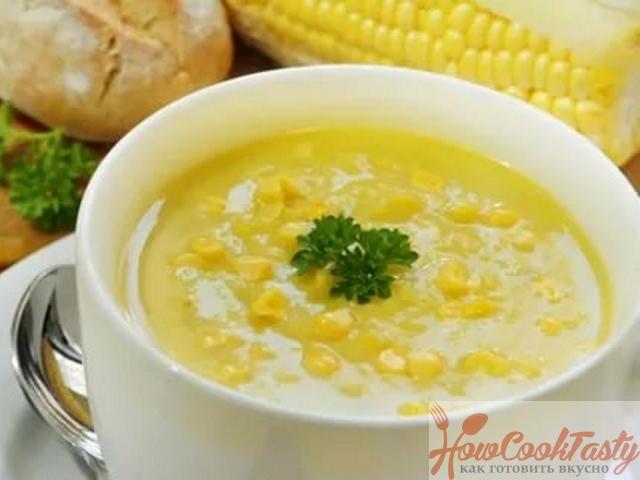 Картофельно-кукурузный суп