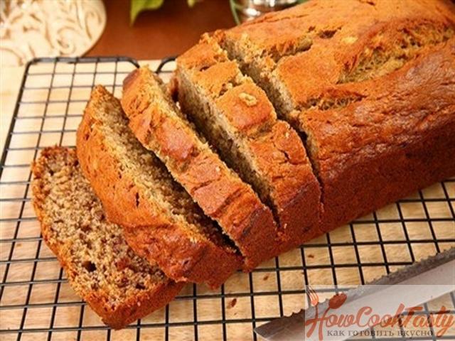 Апельсиновый хлеб с орехами