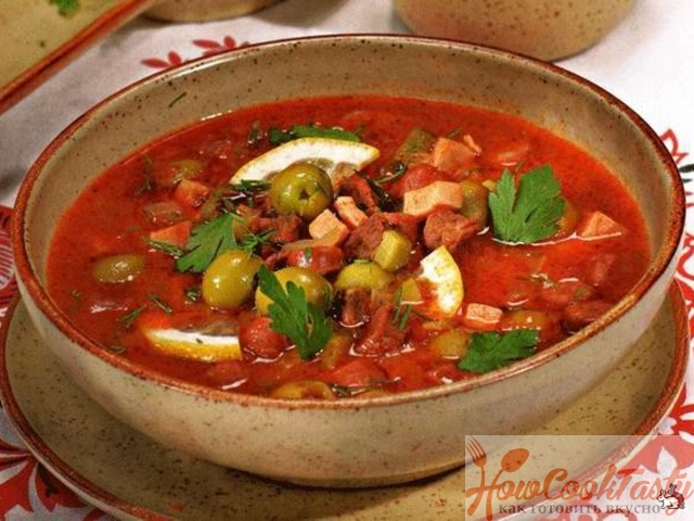 Как приготовить Солянку суп