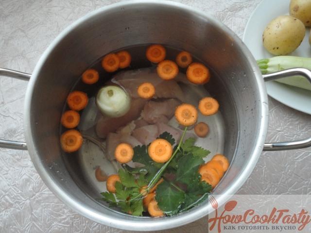 Щавелевый суп с курицей рецепт с фото