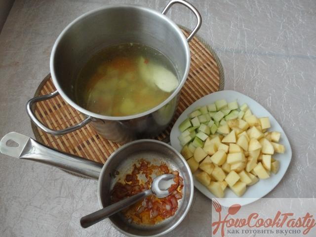 Щавелевый суп с курицей рецепт с фото 2