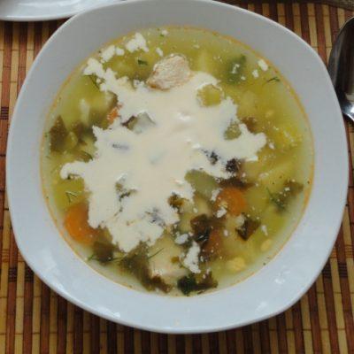 Щавелевый суп с курицей пошаговый рецепт 2