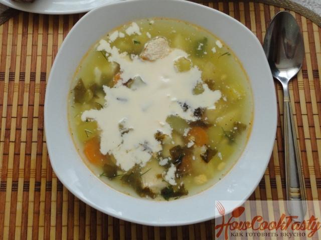 Щавелевый суп рецепт с курицей