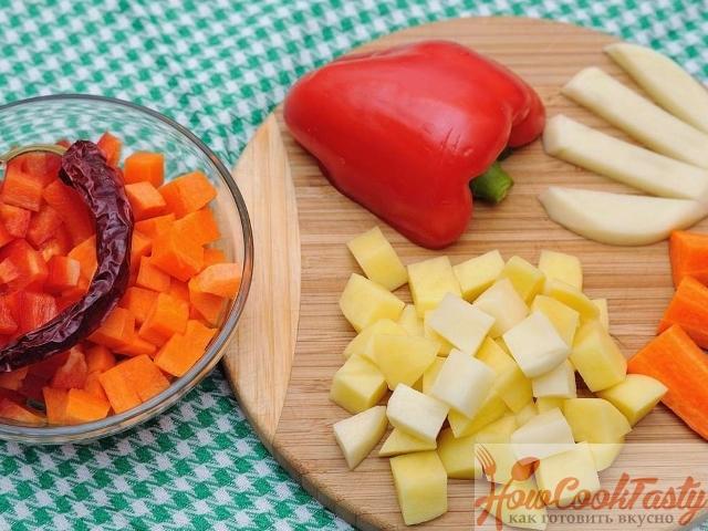 Венгерский суп гуляш с говядиной 2