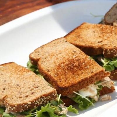 Сэндвичи с тунцом и сыром - Рецепт