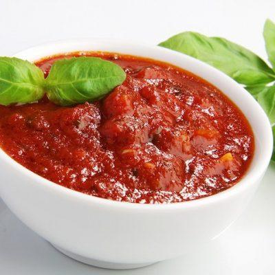 Томатный соус из свежих помидоров и бальзамического уксуса - Рецепт