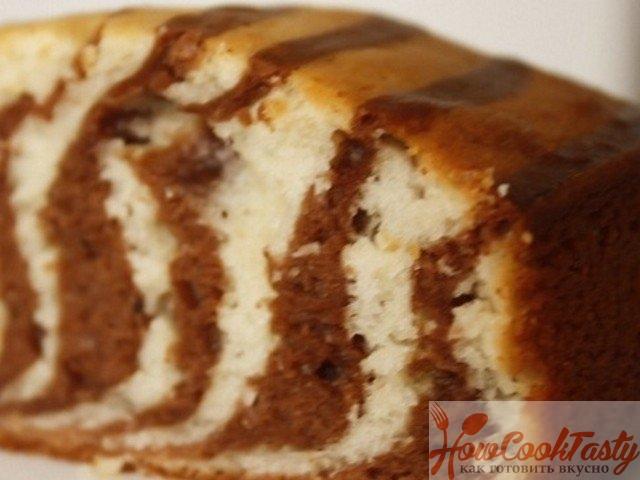 Классический торт «Зебра»