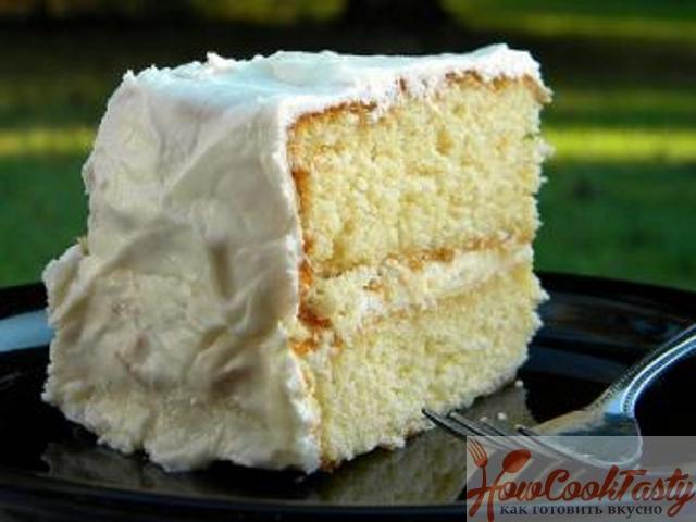 Сметанный торт