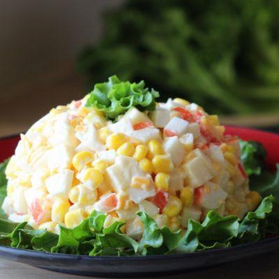 Как приготовить салат крабовые палочки