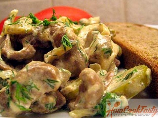 Почки свиные (пошаговый рецепт с фото) Кулинарный 58