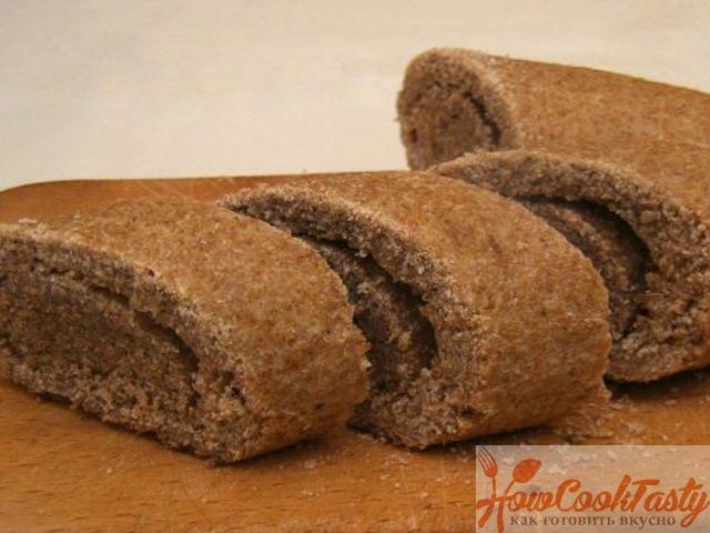 Хлеб с отрубями в духовке