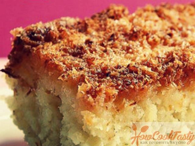 Апельсиново-кокосовый пасхальный пирог
