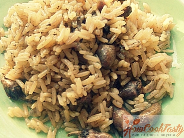 Рис с сердечками в рукаве