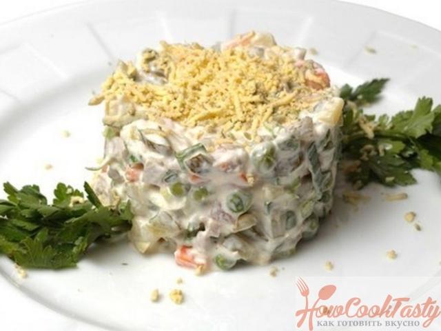 Как приготовить зимний салат по классическому рецепту
