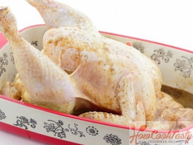 Замариновать курицу