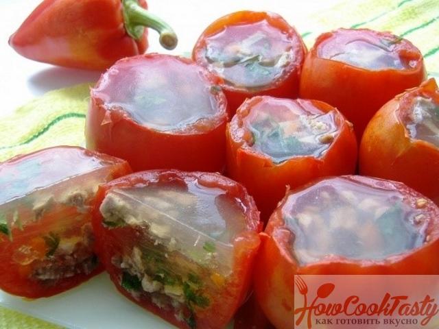 Заливные помидоры