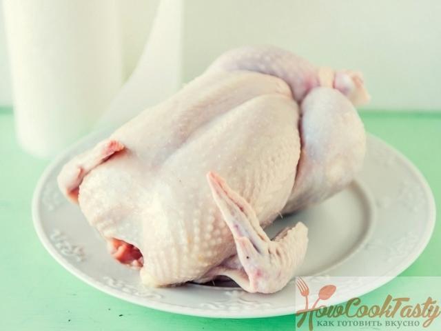 Подготовить курицу