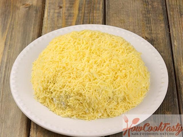 Майонез и сыр