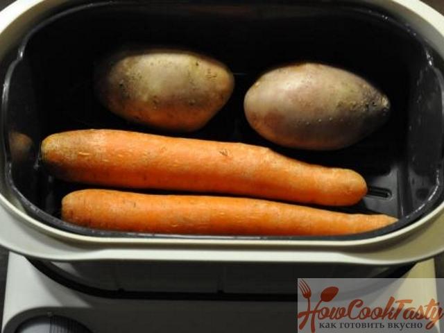 Сварите овощи
