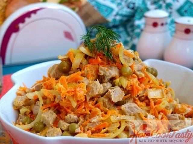 Салат «Купеческий»