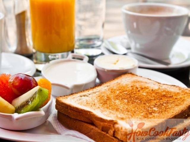 Итальянско — французский тост