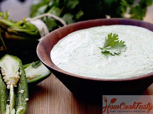 Рецепт соуса из сметаны