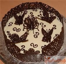 шоколадный узор