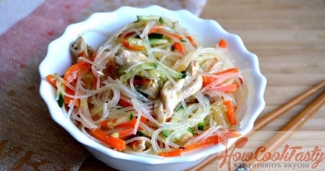 Салат по азиатски