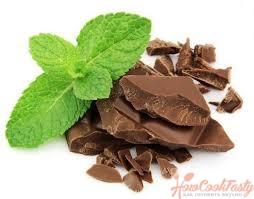 шоколад и мята