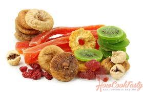 высушенные фрукты