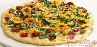 простая вкусная пицца