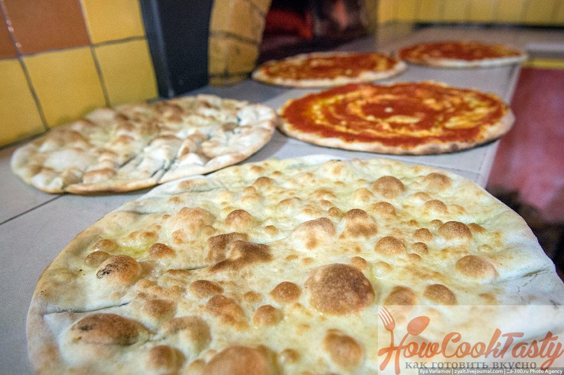 пицца простая домашняя